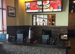 Digital Loyalty Kiosk at Pizza Pie Cafe