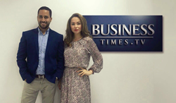 Business times TV co-founders