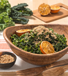 Shredded Kale Salad with Ginger and Roasted Orange