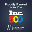 For the Third Consecutive Year, Wholesale Screening Solutions Appears on the Inc. 5000 List, Ranking 480th with a Three-Year Sales Growth of 795%