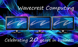 Wavecrest Computing 20th anniversary