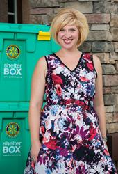 Amanda Runge, Strategic Gifts Officer, ShelterBox USA