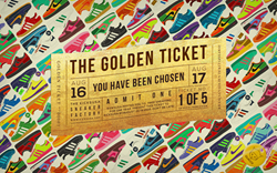 KicksUSA GOlden Ticket Giveaway