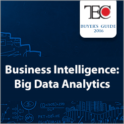 2016 Business Intelligence Buyer's Guide: Big Data Analytics
