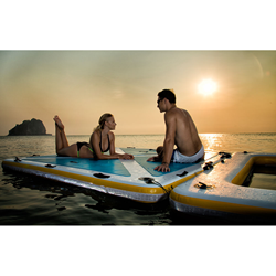 Blue Water Toys Inflatible Floating Deck