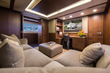 Media Room on the AMANECER Yacht