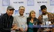 (l to r) Emmy Winner Mark Kirkland, DGA Winner Jesus Savador Trevino, 2015 Winner for Best Narrative Feature, and filmmaker Al Gragg III
