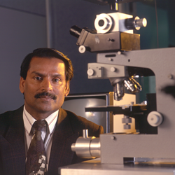 SPIE 2016 Gold Medal of the Society recipient Paras Prasad of the University at Buffalo is being honored for his work in nanomedicine. (Credit: University at Buffalo)