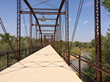 Decking on Restored Historic North Texas Bridge Stands Strong through First Year of Winter Ice and Summer Heat