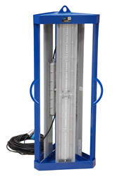Tank Cleaning Light Mounted on a Base Stand Equipped with Three Handles