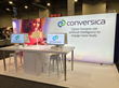 Conversica booth at LeadsCon