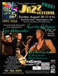 Franklin County Visitors Bureau recommends Renfrew Institute's 25th Annual Jazz Festival