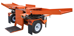 The Wood-Mizer FS500 Log Splitter features bi-directional splitting for production up to 3 full cords of firewood per hour.