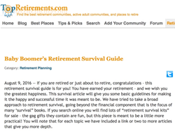 Retirement Survival Guide