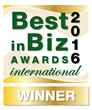 Best in Biz Awards 2016 International Gold