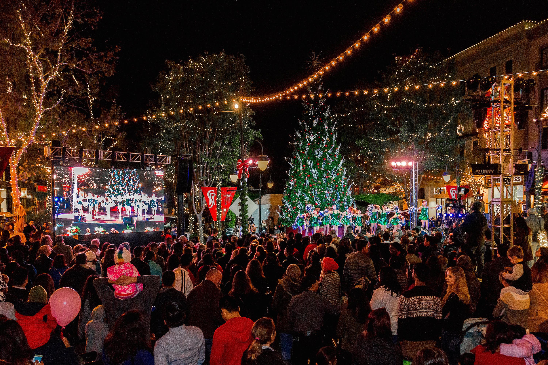 From Glass Pumpkins To Santa Paws, Santana Row Gets Into
