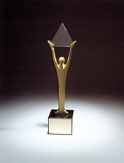 Stevie Award Trophy