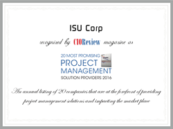 CIO Review 20 Most Promising Project Management Solution Providers 2016