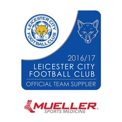 Mueller Sports Medicine Official Team Supplier of Leicester City Football Club