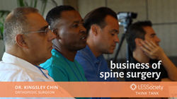 Dr. Kingsley Chin Discusses the Business of Spine Surgery
