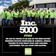 Plumbing & HVAC SEO Achieves Placement on Inc. Magazine's Annual List of America's Fastest-Growing Private Companies