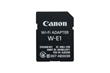 Wi-Fi connector for DSLR cameras