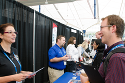 The Job Fair at SPIE Optics + Photonics next week will connect representatives of hiring companies with prospective job applicants.