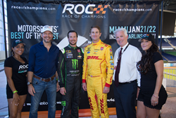 ROC President & Founder Fredrik Johnsson, NASCAR Champion Kurt Busch, IndyCar Champion Ryan Hunter-Reay, Miami Marlins Executive VP Claude Delorme