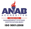 ISO9001:2008 ANAB