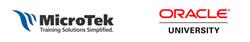MicroTek and Oracle logos