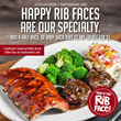 Tony Roma's Brings Out the Bibs for National Baby Back Ribs Day