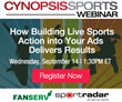 Cynopsis Webinar on September 14 – How Building Live Sports Action into Your Ads Delivers Results