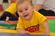 Tumble Tots rebrand their youngest age group 'Gymbabes' to 'Tumble Tots 6 months to Walking'.