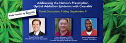 """Cannabis Addresses Prescription Opioid Addition"" at CWCBExpo"