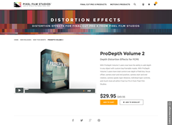 ProDepth Volume 2 - FCPX Plugin - Pixel Film Studios