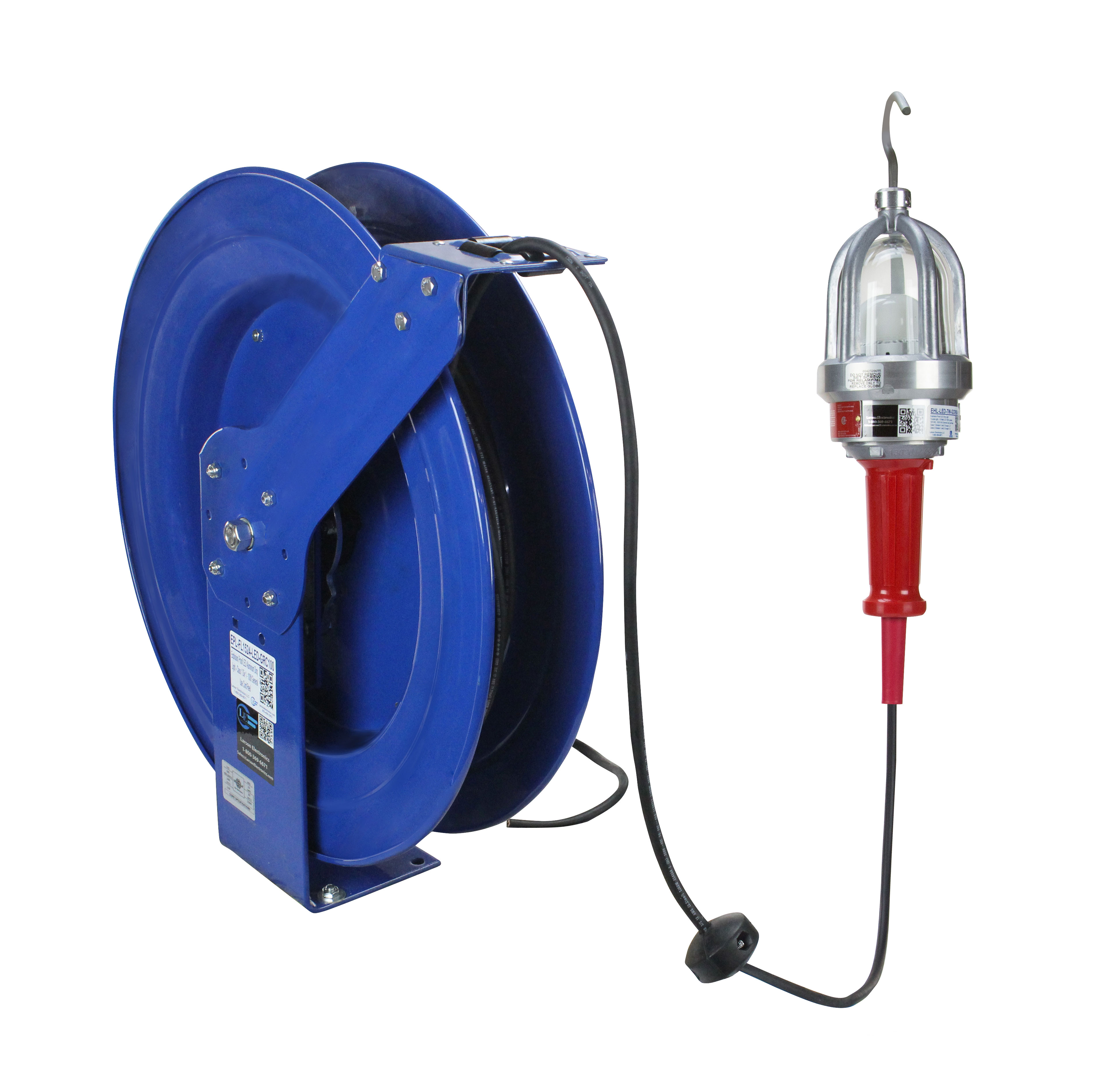 Led Light Cord Reel Retractable Extension W Tritap And Circuit Breaker Prolite Larson Electronics Releases An Drop That Outperforms Traditional Incandescent Lights 3884x3734