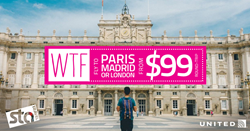 STA Travel WTF Offer