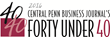 Central Penn Business Journal's Forty Under 40