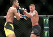 """Monster Energy's Anthony """"Showtime"""" Pettis Defeats Charles Oliveira by Submission in His Featherweight Debut at UFC on Fox 21"""