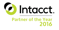 AcctTwo Named Intacct Partner of the Year 2016