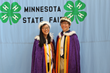Nathan Weckwerth and Molly Lindgren Crowned Minnesota Poultry Prince and Princess at 2016 State Fair