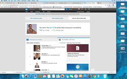 LinkedIn Connections Milestone