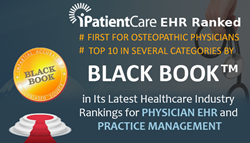 iPatientCare Ranked in TOP 5 in Several Categories by Black Book™