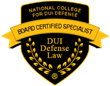National College for DUI Defense -Board Certification in DUI Law