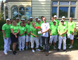 WOW 1 DAY PAINTING Vancouver and Fraser Valley teamed up to help the Honour House Society in New Westminster, B.C.
