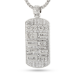 King Ice Suicide Squad Dog Tag Pendant