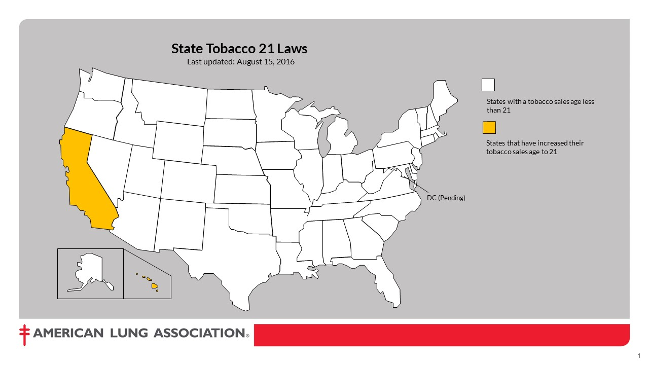 Image result for states with 21 tobacco age