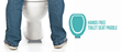 World Patent Marketing Success Team Presents A New Toilet Invention That Makes Using The Restroom More Sanitary, The Hands Free Toilet Seat Paddle