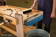 New Dust Right Bench Sweep Provides Convenient Benchtop Cleanup