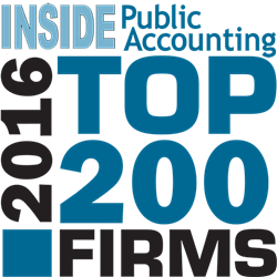Inside Accounting Top 200 CPA Firms